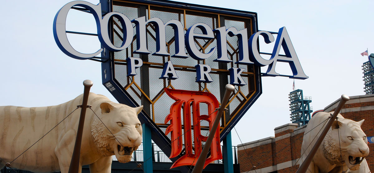 Comerica Park Parking and Directions